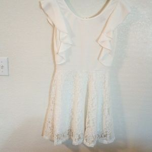 NWT Jonathan Martin collection for her white dress
